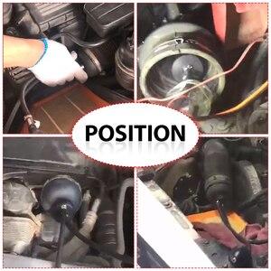 Image 3 - Универсальные автомобильные инструменты, адаптер для быстрого запечатывания выхлопных газов для автомобилей, автомобильный детектор утечки дыма, диагностические инструменты