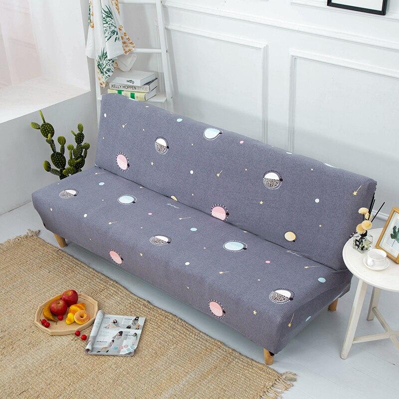 أريكة سرير غطاء العالمي بدون ذراع للطي الحديثة مقعد أغطية تمتد يغطي الأريكة حامي مرونة الغلاف غطاء أريكة