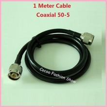 ZQTMAX 1 м 50 5 коаксиальный кабель 50 Ом для мобильного усилителя сигнала и разветвителя питания/питателя, полости/сплиттер питания соединительная линия