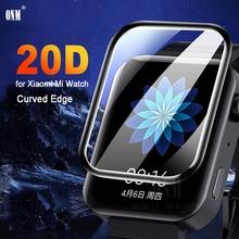 Mi 5D couverture complète film de protection décran pour Xiao mi mi Watch 2019 doux rond protecteur décran couverture accessoires (pas de verre)