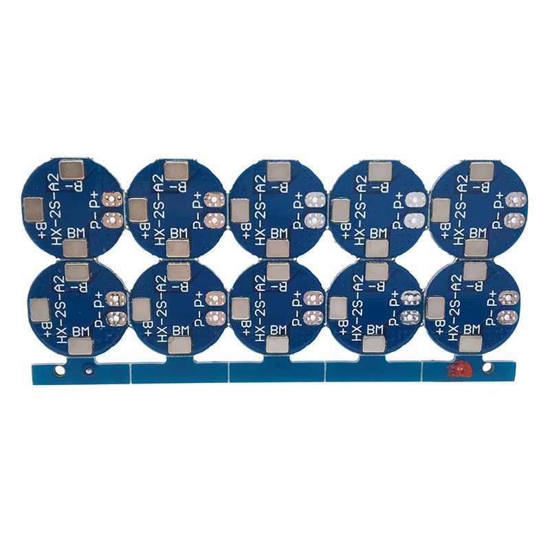 7 4v 2s 18650 li ion lithium battery charger protection board 4a 2 serial overcurrent overcharge overdischarge protection bms 10PCS/LOT 2S 5A Li-ion Lithium Battery 7.4v 8.4V 18650 Charger Protection Board bms pcm for li-ion lipo battery