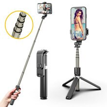 selfie stick tripod bluetooth 3 in 1 selfie stick tripod for smartphone phone xiaom huawe telescopic gopro selfie stick tripod