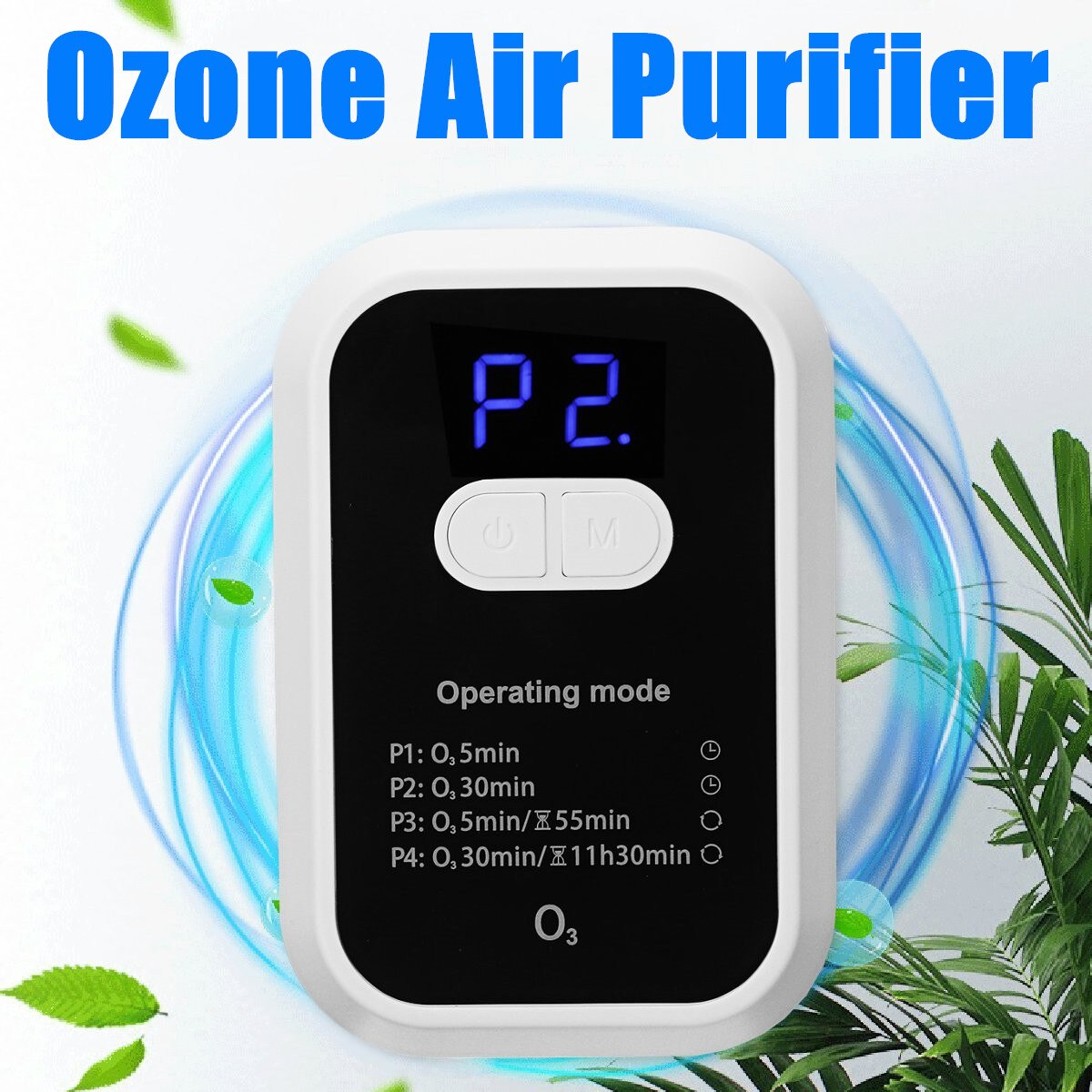 Household Ozone Generator Ozone Air Purifier Air Cleaner Home Lonizer Air Purifier for Home Kitchen Toilet Smart O3 Generator mini car ozone air purifier home ozone generator car air cleaner odor remover o3 generator eliminator deodorization sterilizer