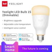 Yeelight LED ampoule 1S Dimmable maison intelligente Dimmable wifi voix App controle soutien Apple HomeKit Amazon alexa Google assistant