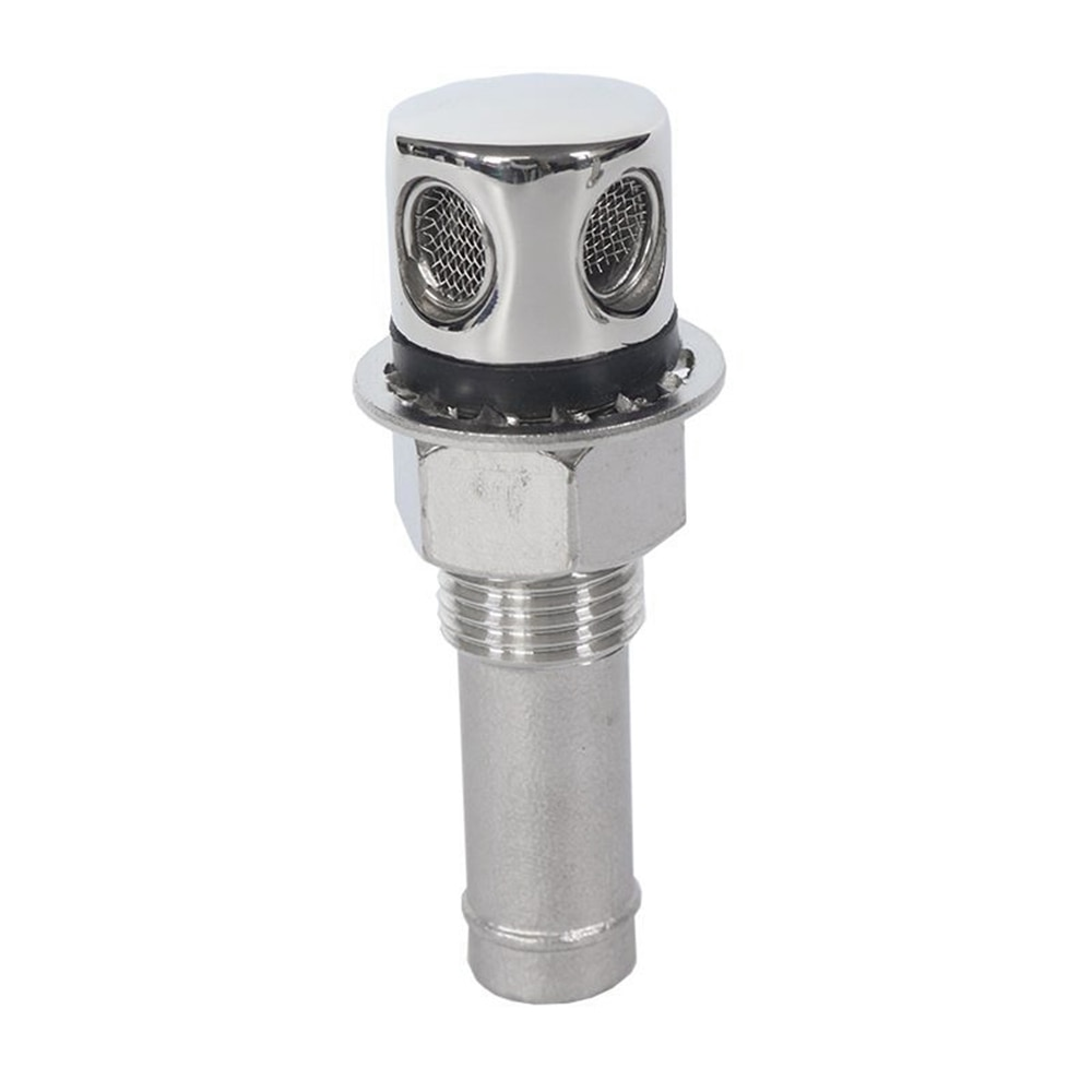316 stainless steel straight fuel breather vent 16mm 5/8 - Boat/Car/Gas Tank M16 Vents Marine Hardware Parts