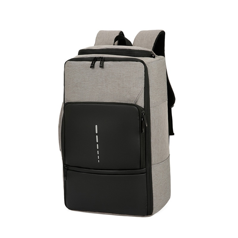 Large Capacity Backpack Men Waterproof Dual-purpose Business Travel Backpack Laptop Bagpack Male Out