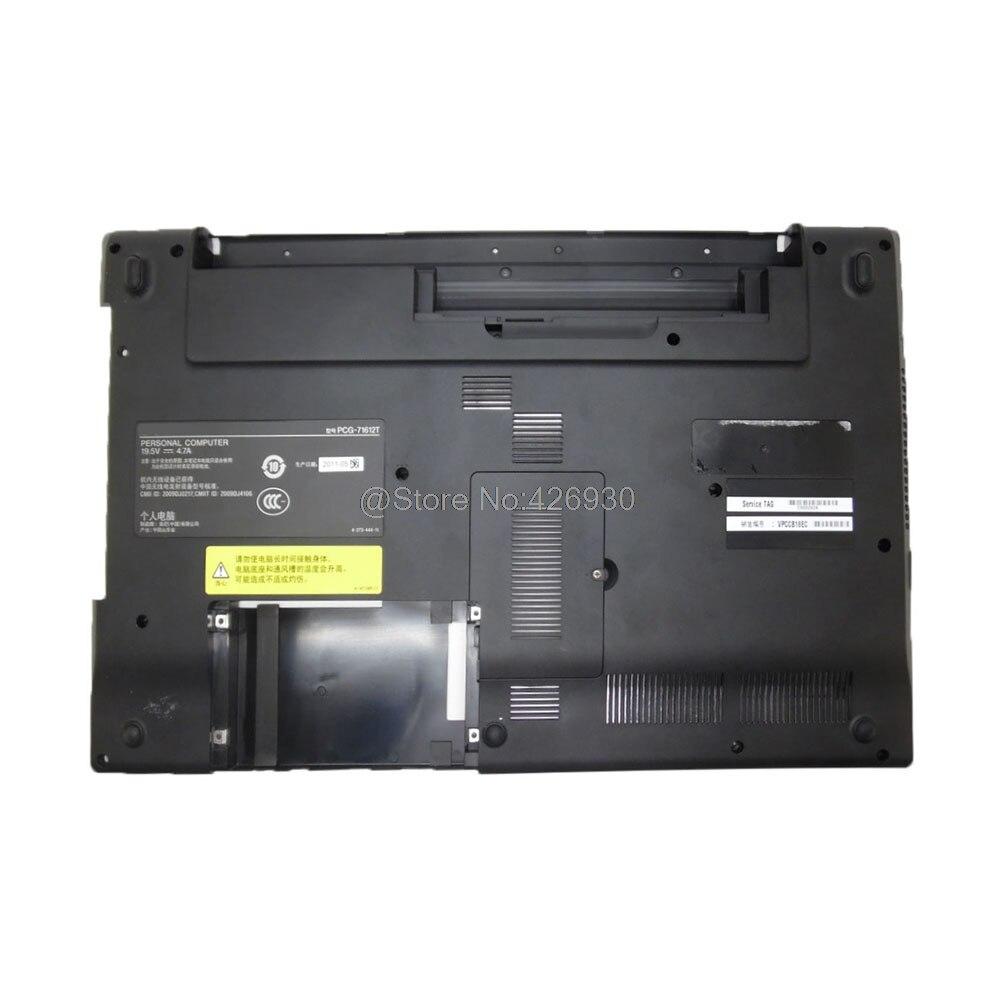 Caso inferior do portátil para sony para vaio VPC-CB vpccb série 012-000a-5942-c preto 95% novo