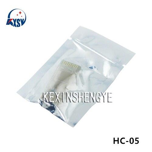 2 unids/lote HC-05 HC 05 RF transceptor inalámbrico Bluetooth módulo esclavo RS232 / TTL eine UART convertidor y adaptador