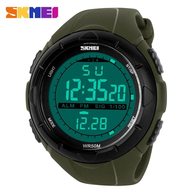 SKMEI1025 men's multifunctional water sports electronic watch men's LED student watch