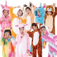 Пижама-Кигуруми для мальчиков и девочек, цвет в ассортименте, 1 шт