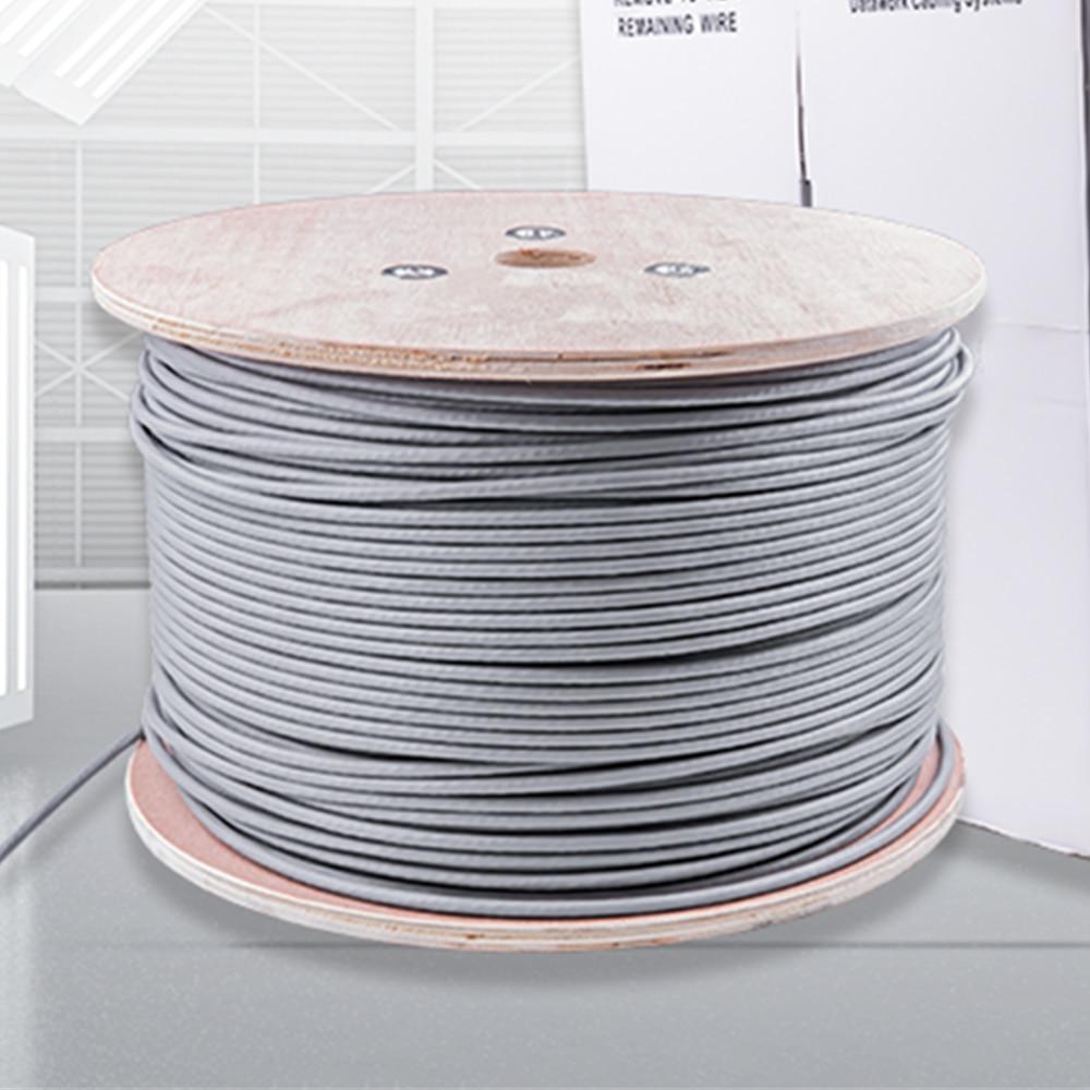 10m rj45 cat6a cabo de rede 10g sftp duplo blindado multi-fio trançado par gato 6a rj45 cabo de remendo ethernet cabo lan