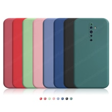 For Oppo Reno2 Z Case Reno 2Z 2F 2 Z 3 4 5 Pro Plus 5G Cover Luxury Original Liquid Silicone Soft Sh