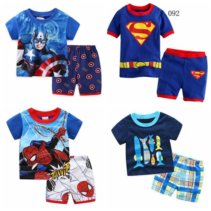 Nuevos juegos de pijamas de dinosaurio para niños, pijama para niños, traje de dormir para niños, telescopio, pijamas para niños, ropa para el hogar, camisón H031