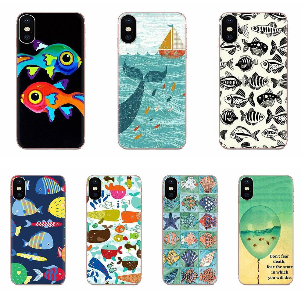 Funda blanda para teléfonos pescado Rapala gato y peces para Xiaomi CC9 CC9E Mi 3 4 4i 5 5S 6 6X 8 9 SE jugar Plus Pro Lite A1 mezclar 2 Nota 3