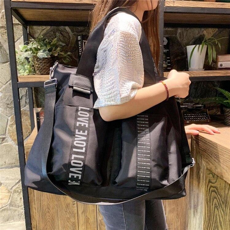2020 جديد حقائب النساء المرأة حقائب كتف واحدة سعة كبيرة حقائب خفيفة الوزن المألوف رحلة عمل حقائب الأمتعة