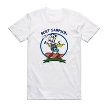 Bort Sampson Tee 바트 암소 재미 있은 외로운 섬 Brooklyn 99 T 셔츠