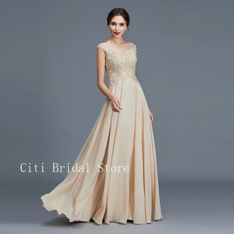 Vestido de novia con apliques para madre del novio, ropa de novia...