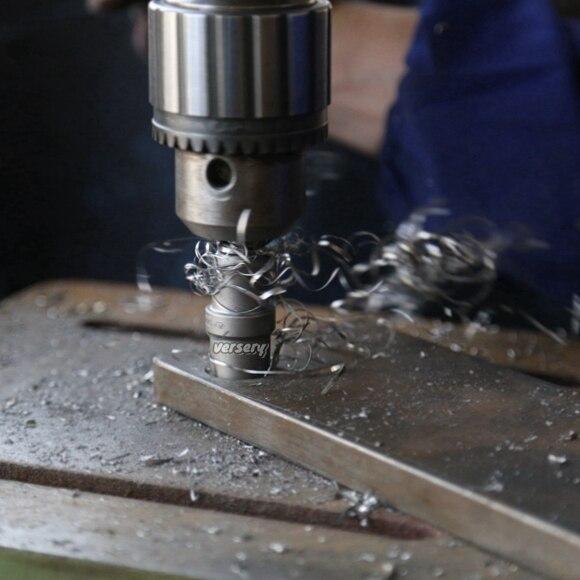 Ensemble de cloches en carbure de Cobalt, TCT 16-53mm, pour percer des trous, l'inox et l'acier, 10 pièces/ensemble, livraison gratuite
