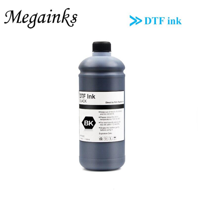 1000 مللي DTF حبر 5 لون متاح للطابعة المباشرة فيلم نقل الحرارة لإبسون L1800 I3200 L800 L805 PET فيلم نقل