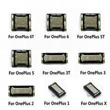 새로운 이어 피스 이어 스피커 사운드 리시버 플렉스 케이블 OnePlus 1 2 3 3T 5 5T X 6 6T 수리 부품