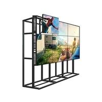 penpos lcd video wall 49 inch 3 5mm did bezel 3x3 2x2 types ultra narrow bezel monitor tv cctv room meeting room