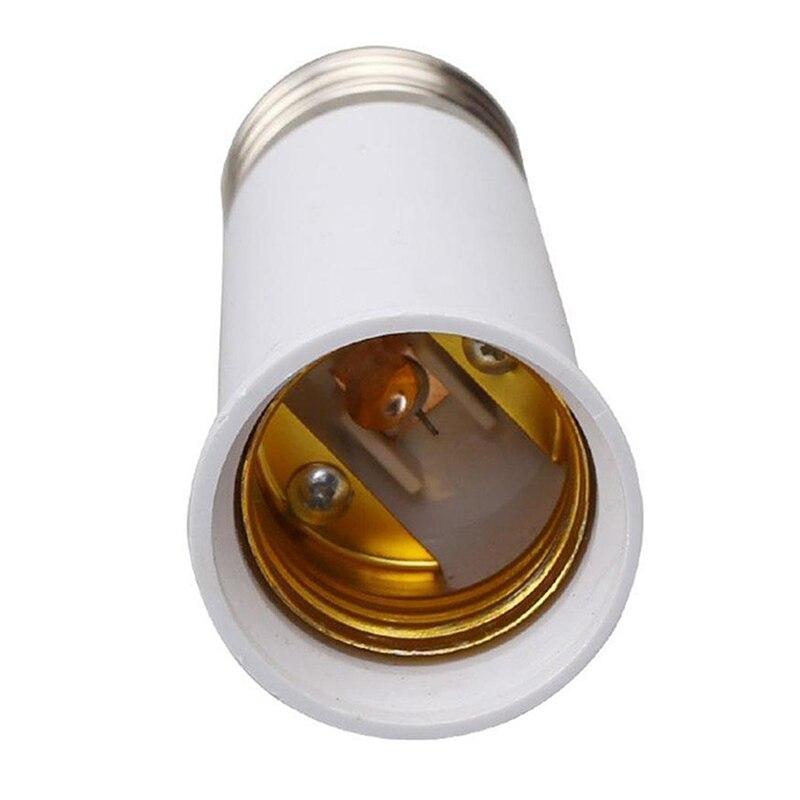 Base de lámpara LED E27 a E27, enchufe de bombilla con soporte...