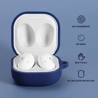 silicone earphone case for samsung galaxy buds live headphones cover bluetooth compatible earphone wireless headset shell