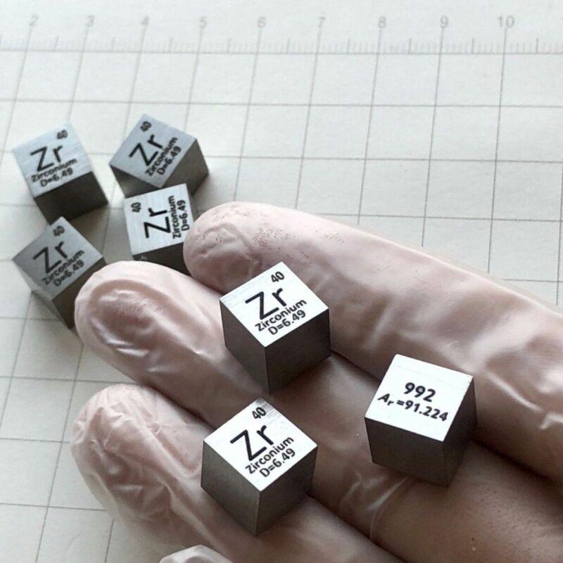10mm Dichte Wrfel 99,2% Hohe Reinheit élément sammpoumon