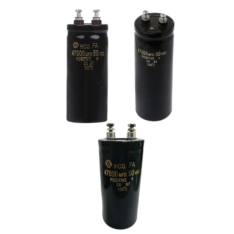 35EC 50V 47000 мкФ/MFD алюминиевый винтовой электролитический конденсатор 105 ℃