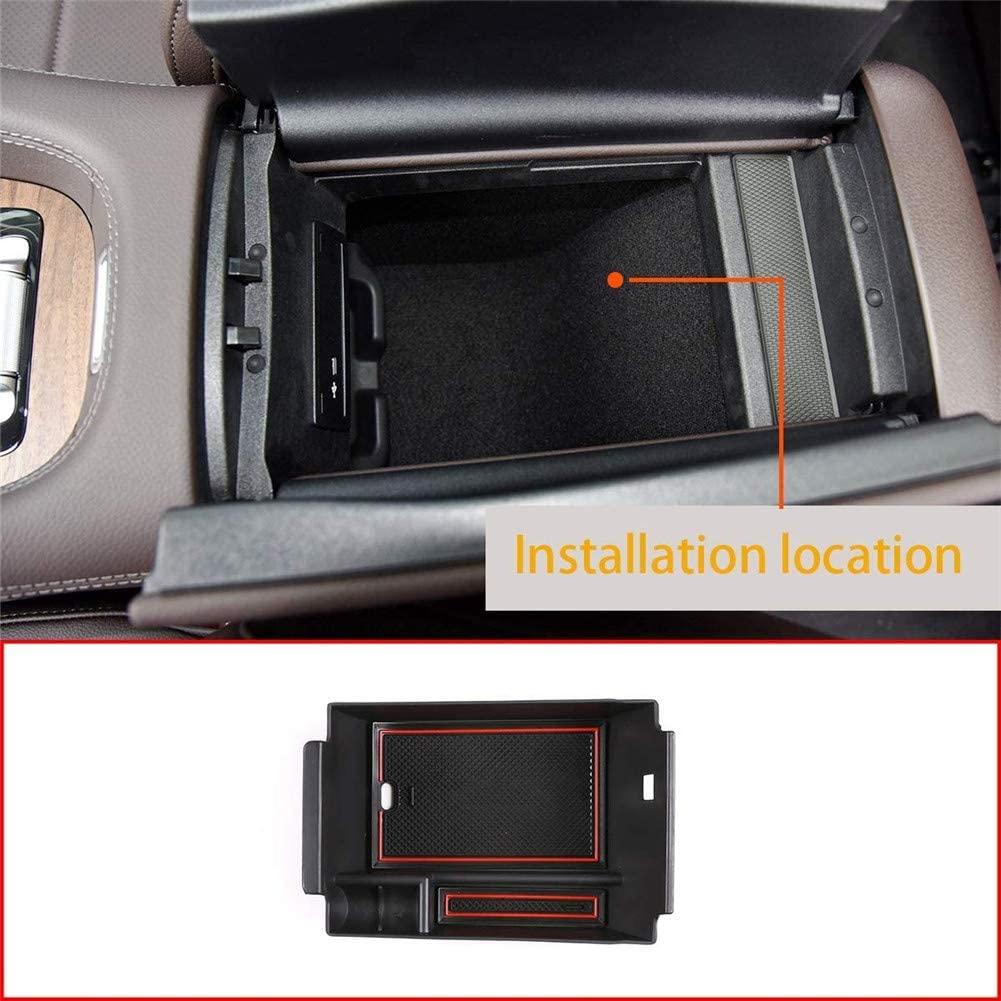 Caixa de armazenamento central do apoio de braço da fileira dianteira do plástico abs para mercedes-benz gle 350 400 w167 2020
