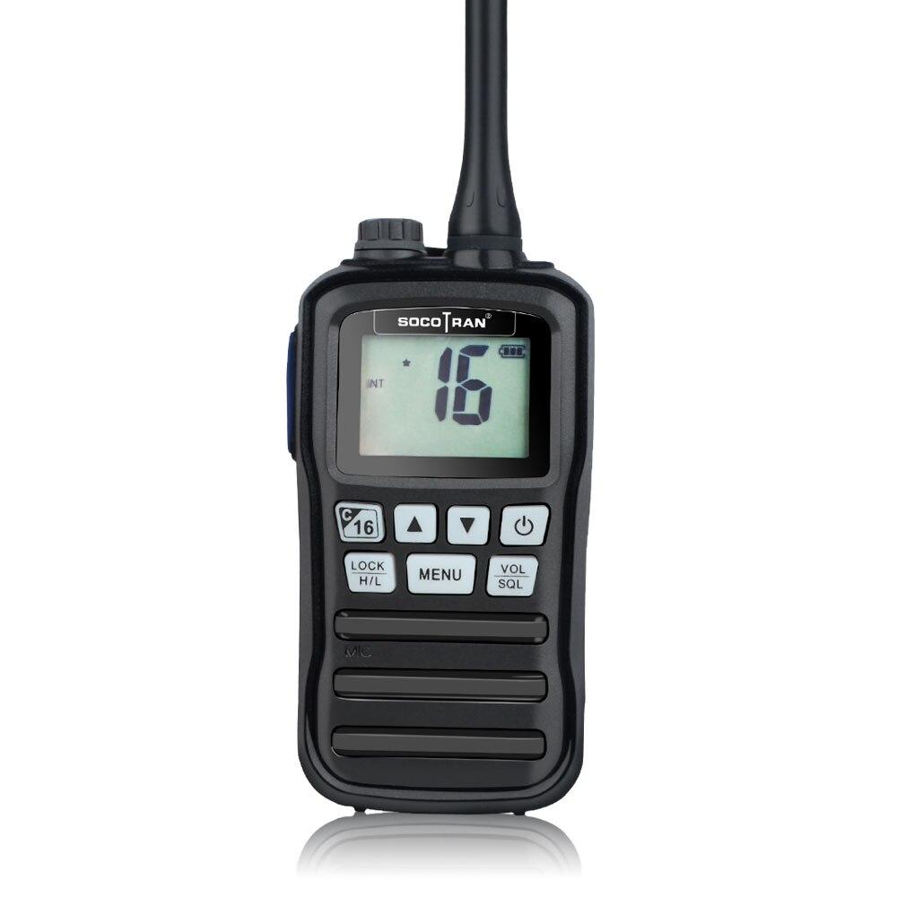 RS-25M VHF Marine Transceiver  IP-X7 Waterproof Handheld Walkie Talkie Float Boat Vessel Talk Two Way Radio