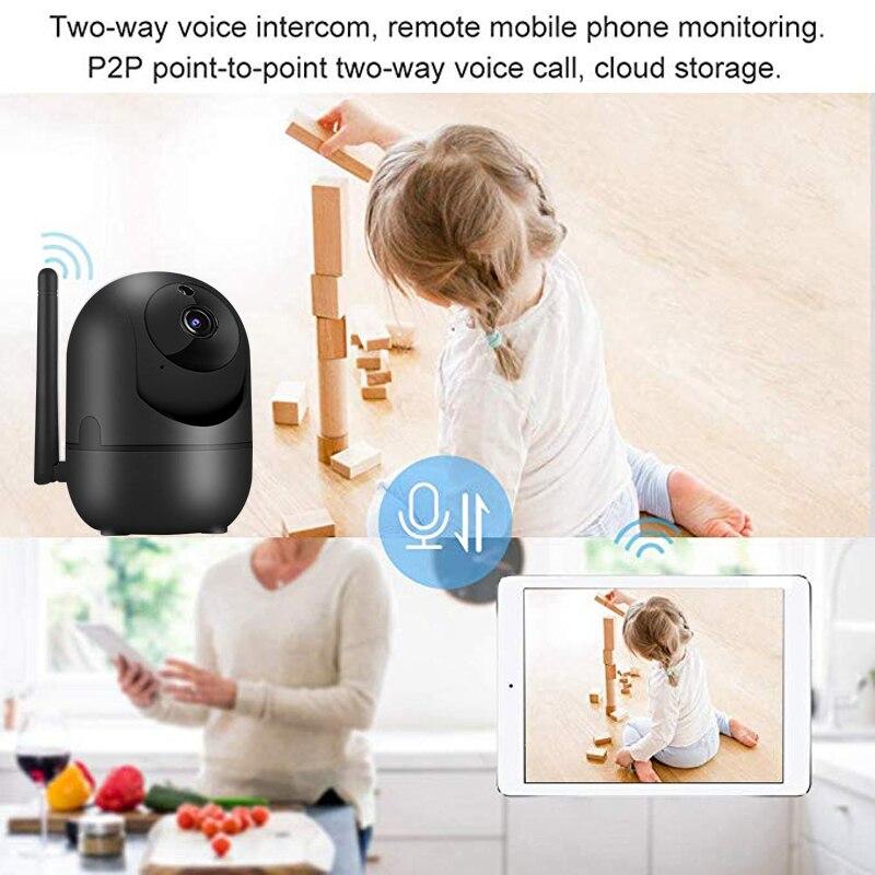 Original WiFi Baby Monitor Cry Alarm IP Camera WiFi Video Nanny Camera Baby Night Vision Wireless Video Surveillance CCTV Camera