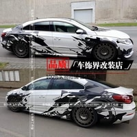 car stickers for volkswagen cc personalized customization of car body appearance fashion sports decal