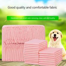 Couches pour animaux   20/40/50/ 100 pièces, tampons piqueurs dentraînement pour chiens, couches pour animaux domestiques Super absorbantes, tapis de couche propre saine pour animaux, fournitures pour couches laitières