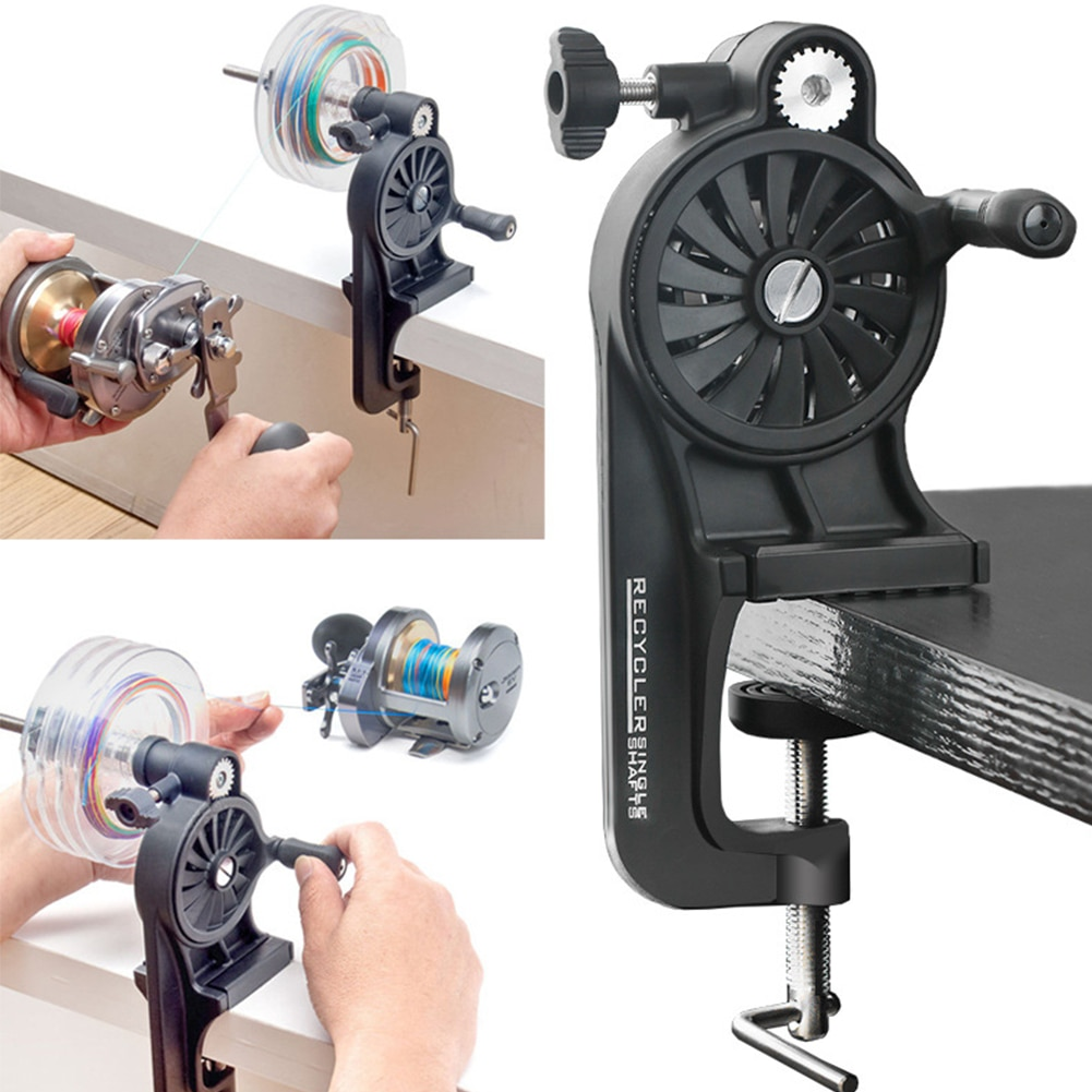 Free Adjusted Fishing Line Winder 3.5X High Speed 3.5:1 Spooler Line Winding Fishing Line Recycler Fishing Tools Accessories enlarge