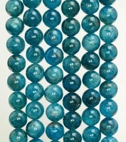 wholesale genuine apatite beads4mm 6mm 8mm 10mm 12mm round gem stone loose beads for jewelry making1 of 15 full strand