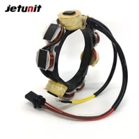 outboard stator for johnson evinrude 12amp 23cyl 1992 199640 50hp engines with s l o w 173 4560 584560 763763