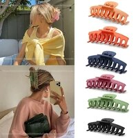 small frosted color scratching doll massage hair scratching hairpin large clip hair accessories for women girls