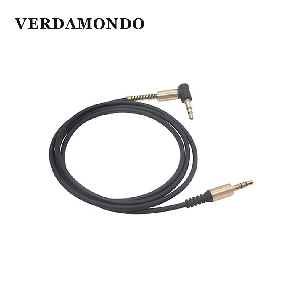 3,5 MM Stecker-Stecker Audio Kabel AUX Kabel Kopfhörer Lautsprecher Telefon Auto Stereo AUX Cord Ellenbogen Frühling Teleskop Audio kabel