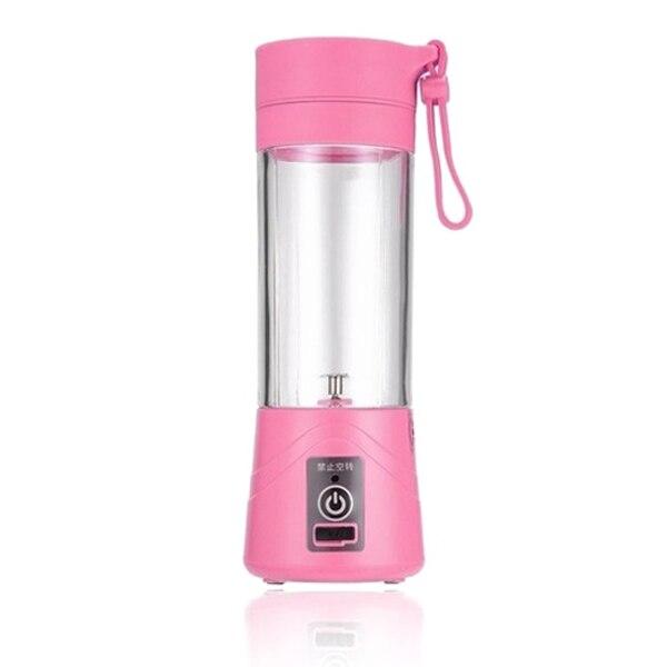 ¡TOP!-licuadora de zumos recargable por USB de 380ml, taza para zumo, licuadora de cítricos, limón, vegetales, batidora, batidora, exprimidores B