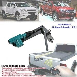 Автомобиля 12V 2 провода видео-телефон двери Мощность привод дверного замка Мощность крышка багажника замок для ISUZU d-max Toyato Hilux Ranger