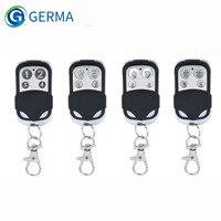 GERMA Универсальный 4 кнопки открывалка Двери Гаража Пульт дистанционного управления 433 МГц клон фиксированный обучающий код для гаджетов вор...