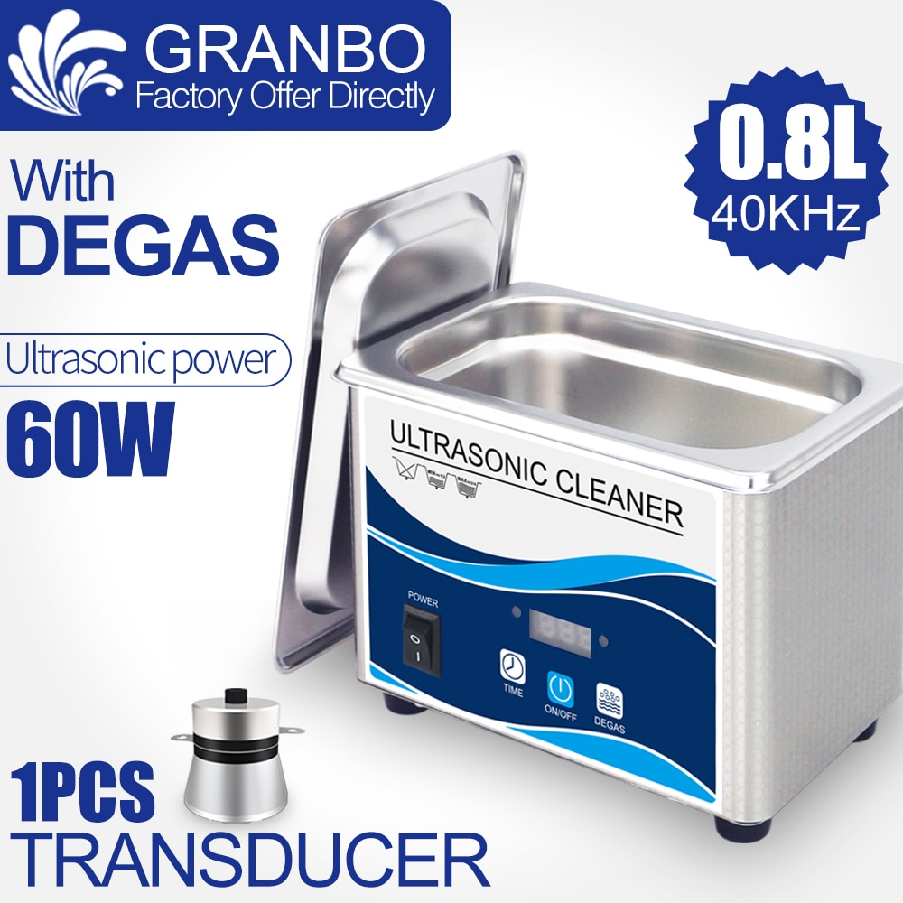 Фото - Digital Ultrasonic cleaner 60W Sonicator bath 40Khz degas for gold sliver Jewelry glasses jade necklace oxides rust oil washer degas a passion for perfection