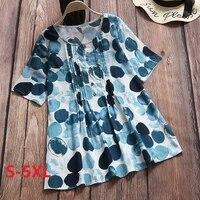 summer %c2%a0fashion women blouses polka dot print casual women shirts o neck tops mujer de moda 2021 purple blouse