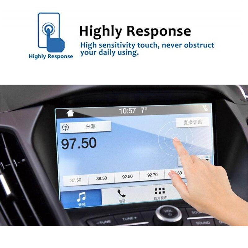 175x105 мм для Ford Taurus 2017-2018, закаленное стекло, Автомобильная Мультимедийная магнитола, экран, защитная пленка, защитная наклейка