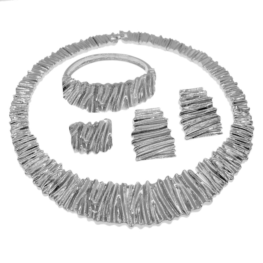 رائعة نوبل الكبير نمط طقم مجوهرات فريدة من نوعها النساء بالجملة تصميم قلادة يؤرخ 4 قطع مجموعات المجوهرات H0038