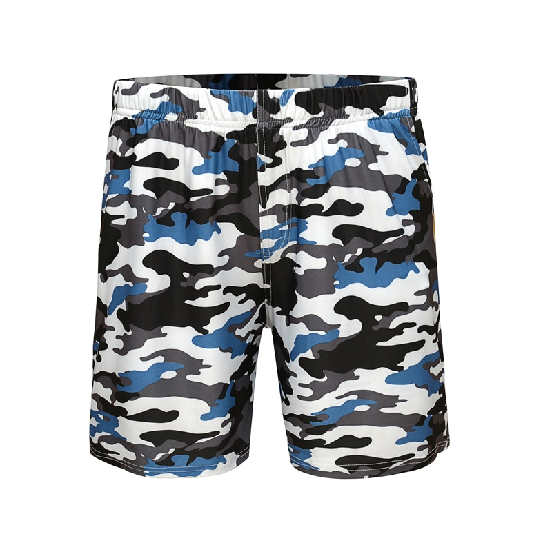 Летние мужские шорты, мужские повседневные шорты, спортивные шорты для фитнеса, дышащие камуфляжные шорты, мужские брендовые шорты для бега