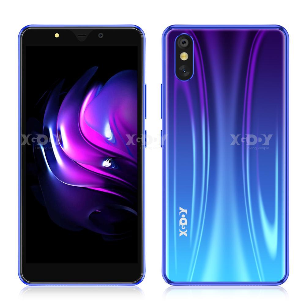 XGODY 3G Smartphone Android 1G 8G Unlock Mobile Phones 5MP Camera Cellphone Quad Core 5.5 inch GPS WiFi Dual SIM 2020 S20 Lite