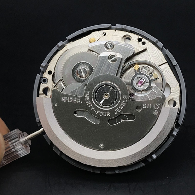 NH36A Premium Automatic Movement Self-winding Mechanical Quick Date/Day Setting 24 Jewels Japan Watch Movement Replacements enlarge