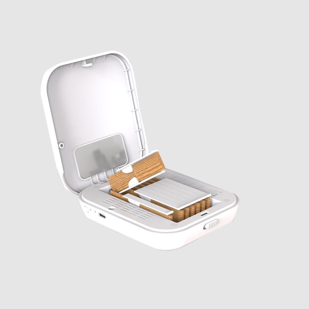 Saxophone Mouthpiece Cleaning And Disinfection Box Dedicated Sterilization Protection Box For Musical Instrument enlarge